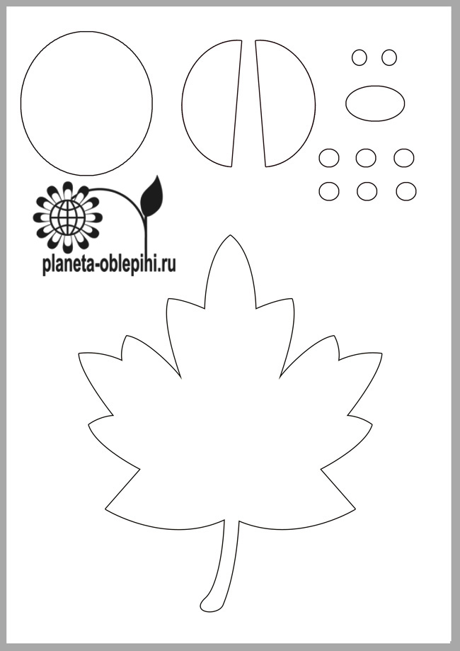 Аппликация божья коровка из цветной бумаги шаблоны